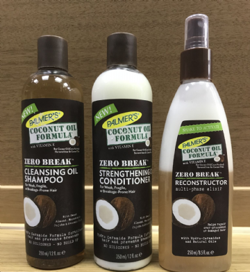 PALMER'S COCONUT OIL FORMULA ZERO BREAK HAIR PRODUCTS